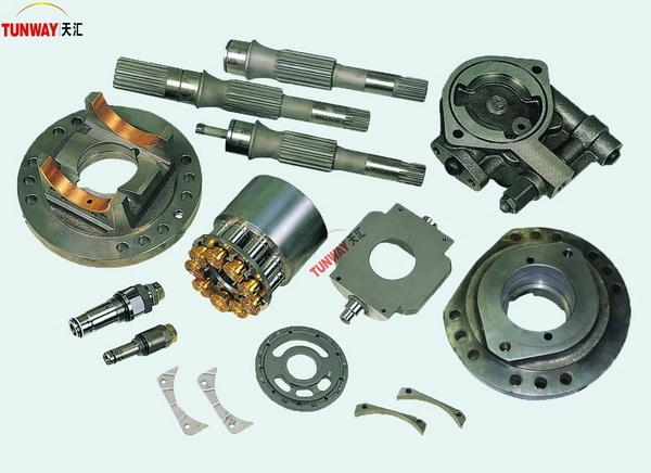 Komatsu excavator parts and hydraulic piston pump spare parts 1