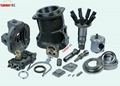 HITACHI excavator hydraulic piston pump spare parts