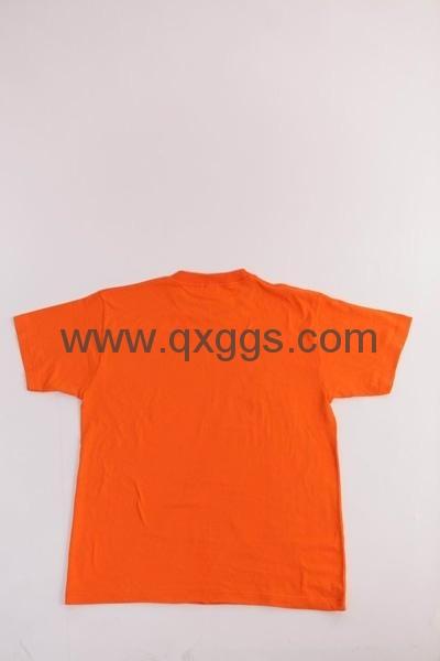 200克精梳棉圆领T恤 4