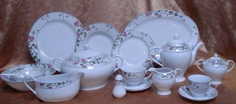 49 pcs super white dinnerware 2