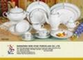 49 pcs super white dinnerware 3