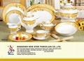 49 pcs super white dinnerware 5