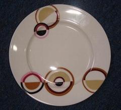 super white flat plate
