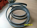 fan belt,Raw Edge Belt,Machinery Belt 1