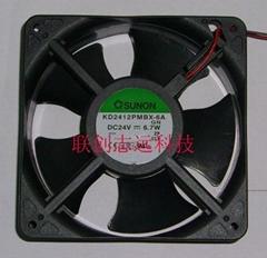 SUNON機櫃風扇KD2412PMSX-6A.GN