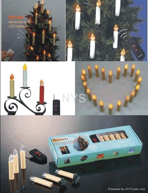 Multi-function Electronic Remote LED Christmas light 1