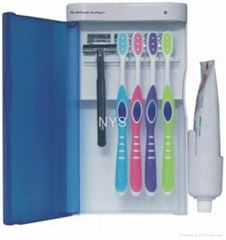 Wall Mount UV Ozone Light TOOTHBRUSH STERILIZER