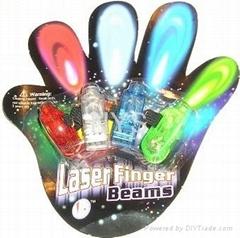 4 pcs LED flashing  finger light