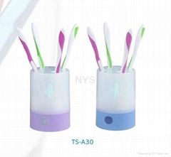 Round Tabletop UV Toothbrush Sterilizer