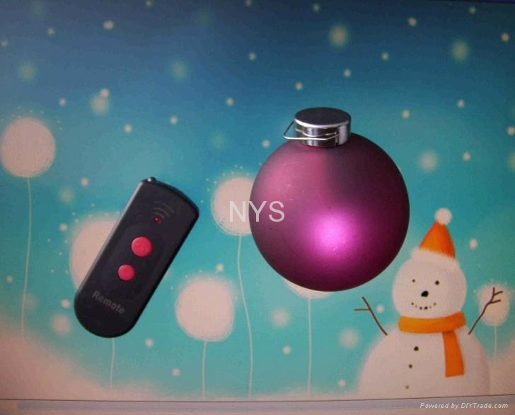Remote Control LED Christmas ball 1