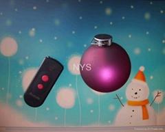 Remote Control LED Christmas ball