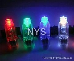 LED flashing finger ligh