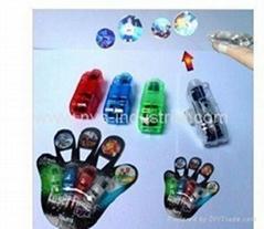 4 pcs/set LED laser Projection finger lights