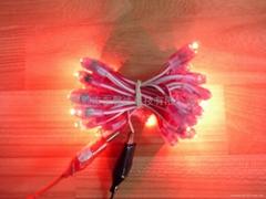 LED外露發光沖孔燈字