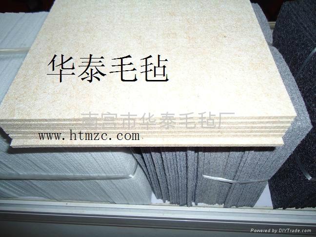 抹泥板用高密度羊毛氈 3