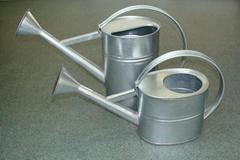 Tin Ga  anized Watering Can