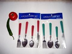 供应4PC刀叉勺