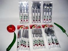 供应六件装刀叉勺