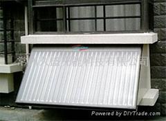 split solar watet heater with solar collector