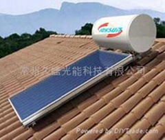 Compact natural pressure solar water heater Series