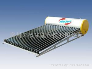 Heat Pipe Solar Water Heater Compact Internal Coil Series