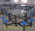 不鏽鋼餐桌椅 1