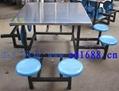 不鏽鋼餐桌椅 2