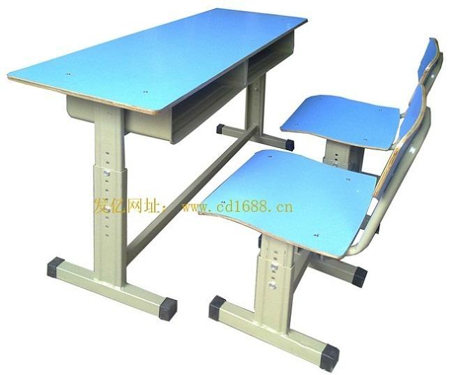 雙人昇降課桌椅 1