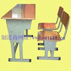 雙人課桌椅