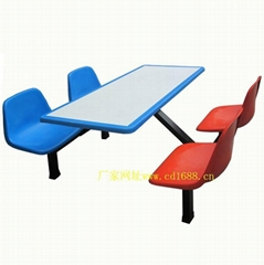 餐廳快餐桌椅
