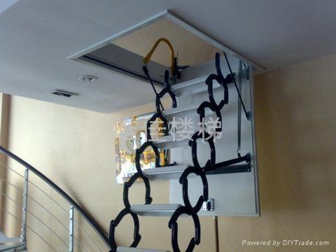 自动伸缩楼梯美丽图片 2