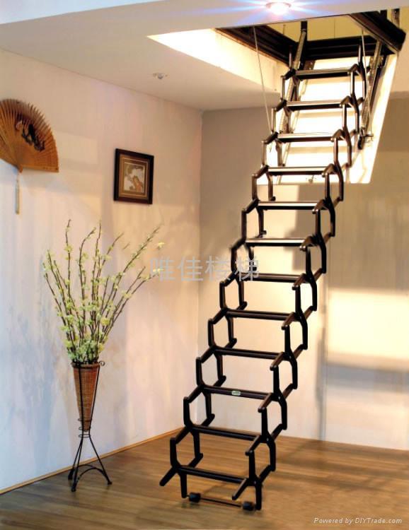 阁楼楼梯装修效果图 2