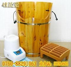 健蒸堂不鏽鋼圈 香柏木桶,蒸足桶,燻蒸桶,蒸腳桶,藏蒸桶