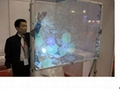 Hiwodtouch transparent projection screen 2