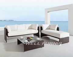 Aventura Outdoor Wicker Set(WF-7355)