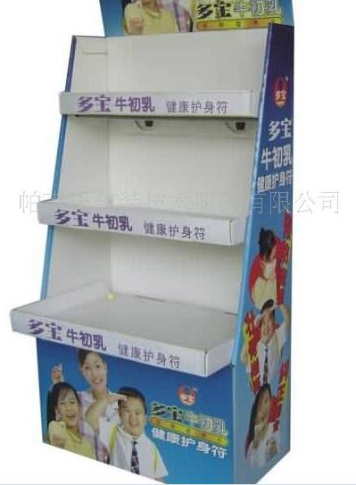 dumpbing 寧波投進式座地紙貨架 3