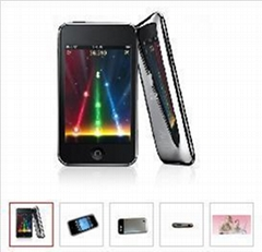 """2.8""""iPod Touch MP4 Player with DC/DV FM Speaker Camera 4GB/8GB real 1:1"""