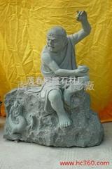 雕塑-十八羅漢