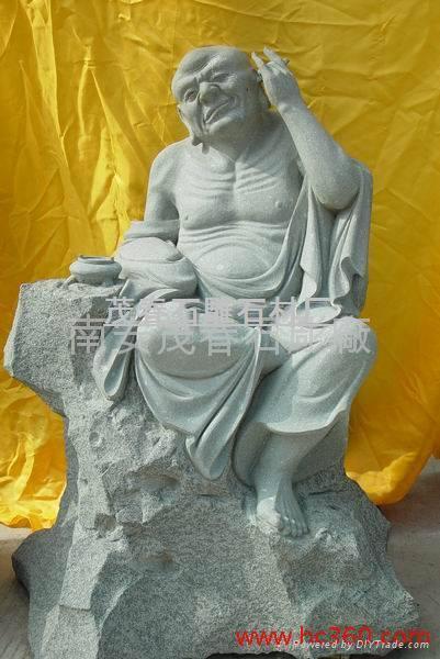 雕塑-十八羅漢 3