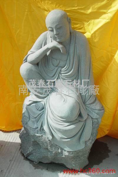 雕塑-十八羅漢 5