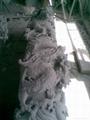 雙龍柱石雕