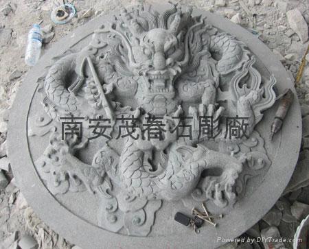 吉祥动物石雕