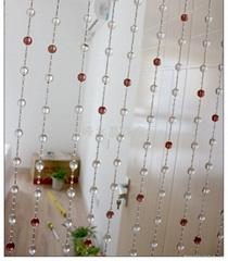 水晶珠帘隔斷
