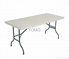 6' Plastic Folding Table(YOMO-TB004)