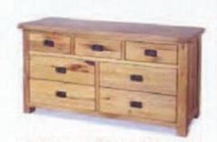 oak console