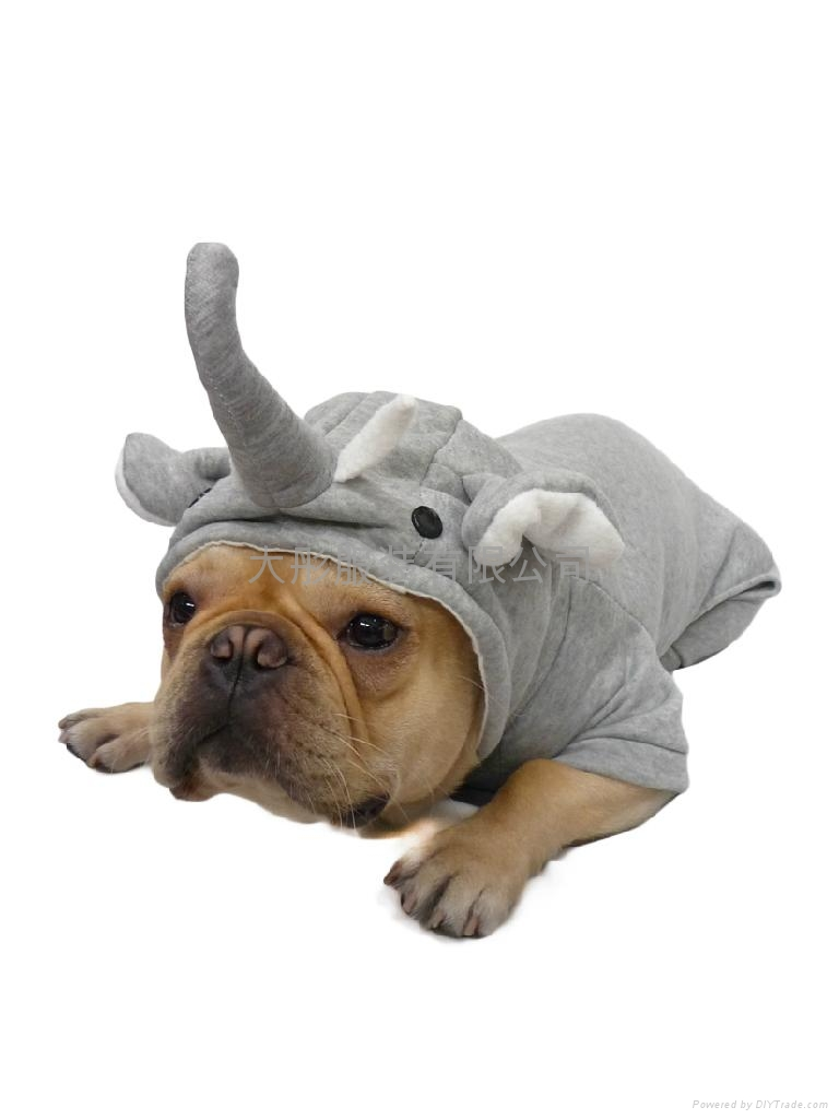 宠物衣服立体大象装