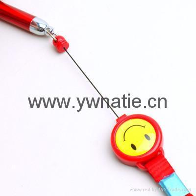 伸縮挂繩圓珠筆 2