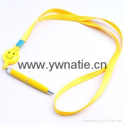 伸縮挂繩圓珠筆 3