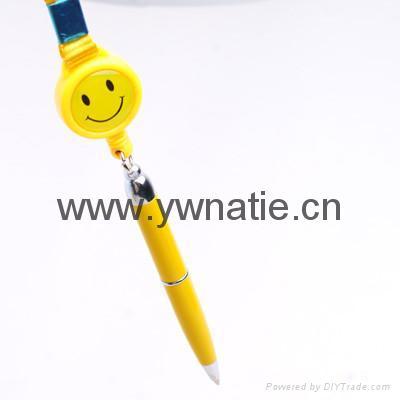 伸縮挂繩圓珠筆 5