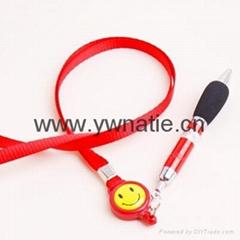 伸縮挂繩筆